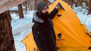 GEERTOP 4 season tent setup and review