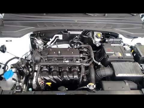 Hyundai CRETA!!! Compartimento do motor e componentes.
