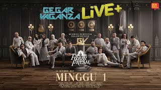 [LIVE] Gegar Vaganza 2019 Live + (Minggu 1)
