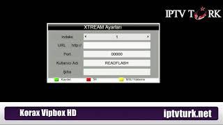 Korax Vipbox HD iptv nasıl yüklenir