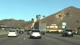"LA Freeway, Tom Petty ""Turn this Car"" on Radio"