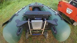 Показать самодельные тележки для перевозки резиновых лодок