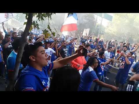 """Lambada azul"" Barra: La Sangre Azul • Club: Cruz Azul"