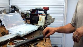How to make chainsaw flywheel removal tool