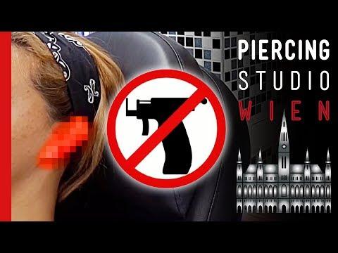 💉 Piercing FAILS 💉 Ohrloch PISTOLE 💉 Eingewachsenes Ohrpiercing 💉 Marc's Piercing TV