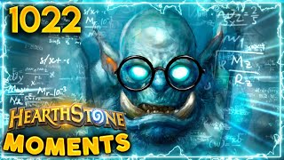 You ALWAYS Bet For The 1/8 LETHAL   Hearthstone Daily Moments Ep.1022