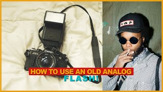 How To Use An OFF-CAMERA FLASH For Film Photography (MANUAL FLASH)