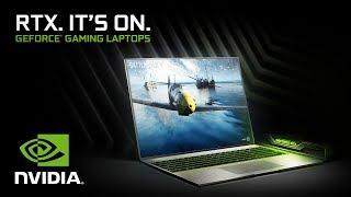 GeForce RTX Gaming Laptops