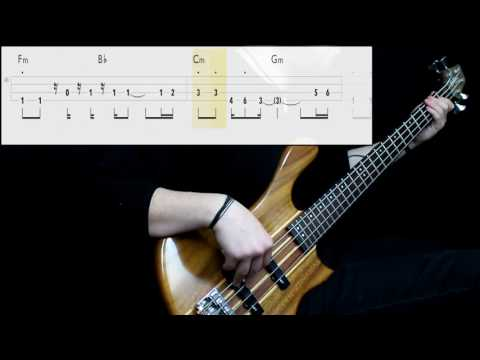 No Doubt - Don't Speak (Bass Cover) (Play Along Tabs In Video)