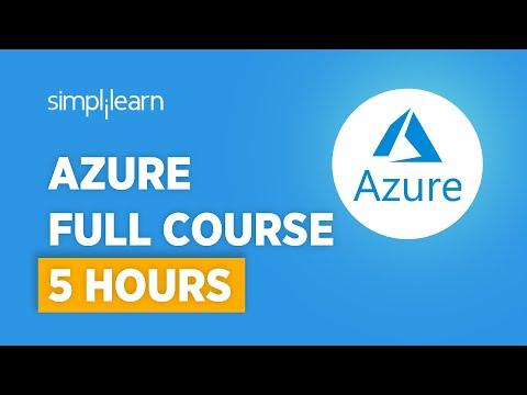 Azure Full Course   Microsoft Azure Training For Beginners