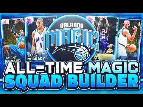 ALL TIME ORLANDO MAGIC TEAM! EVERYONES A WALKING BUCKET! NBA 2k19 MyTEAM SQUAD BUILDER