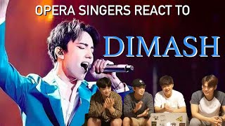 Opera Singers React to Dimash!