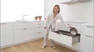 BLUM'S DYNAMIC SPACE, Modern kitchen design.
