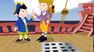 Las aventuras de Reda y Neto: Cuidando el tesoro frente a los piratas