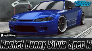 Need For Speed No Limits: Nissan Silvia Spec R (Customization + MAXXED OUT)