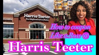 How to coupon at Harris Teeter~ couponing like a boss at Harris Teeter Couponing Crystle