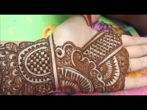 simple easy bridal mehndi design tutorial by mehndi artistica