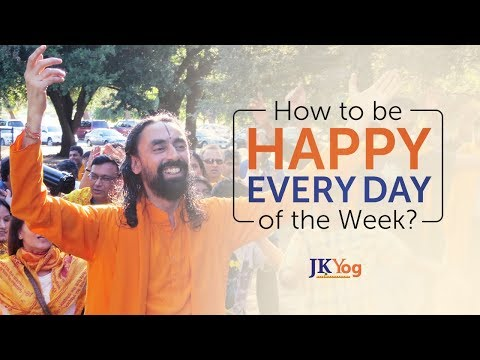 How To Be Happy Every Day of the Week? | Swami Mukundananda