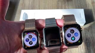 Apple Watch Series 4 Gold 40mm vs 44mm vs 42mm + Unboxing
