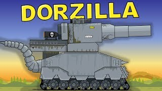 """""""Dorzilla - Monster from the Depth"""" Cartoons about tanks"""