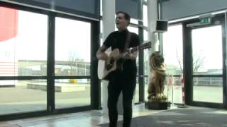 Stevie McCrorie - Lost Stars (Acoustic live at Daily Record)