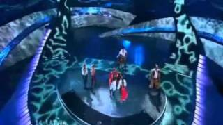 Eurovision 2008 Latvia - Karaoke/Instrumental Version of Wolves of the Sea