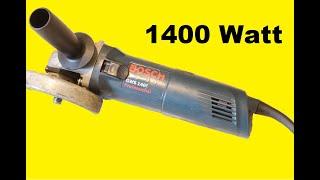 Vorstellung Bosch professional GWS 1400 und Vergleichstest zur GWS 1000
