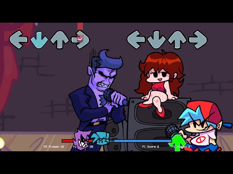Friday Night Funkin Multiplayer - Online Mode (via ngrok)
