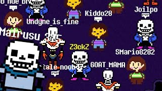 UNDERTALE ONLINE | UNDERTALE MULTIPLAYER MMORPG fangame (Don't Forget) #1