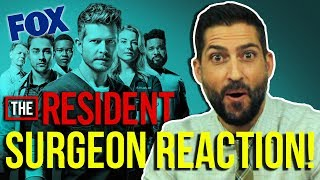 Real Surgeon Reacts to THE RESIDENT | Medical Drama Review