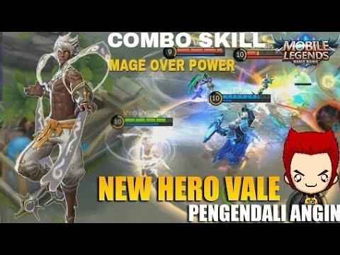 COMBO SKILL VALE ADIK VALIR MAGE OVER POWER MOBILE LEGENDS