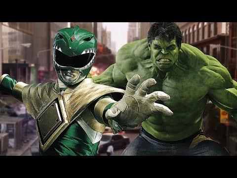 Avengers phong cách power rangers
