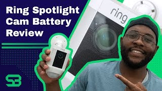 Ring Spotlight Cam Battery Review