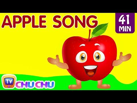 Apple Song | Learn Fruits for Kids | Original Educational Learning Songs & Nursery Rhymes | ChuChuTV