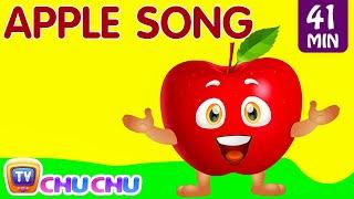 AppleSong|LearnFruitsforKidsandMoreEducationalLearningSongs&NurseryRhymes|ChuChuTV