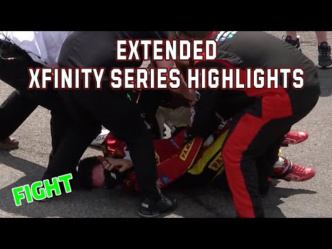 NASCAR ヴァージニア500(マーティンズビル・スピードウェイ)Xfinityクラスのハイライト動画