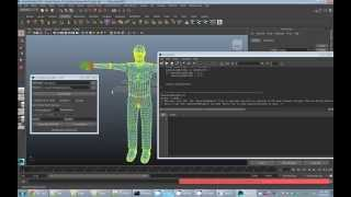 Extracting skin weights from Maya