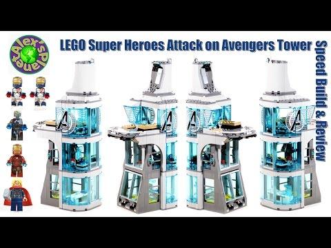 Vidéo LEGO Marvel 76038 : L'attaque de la tour des Avengers