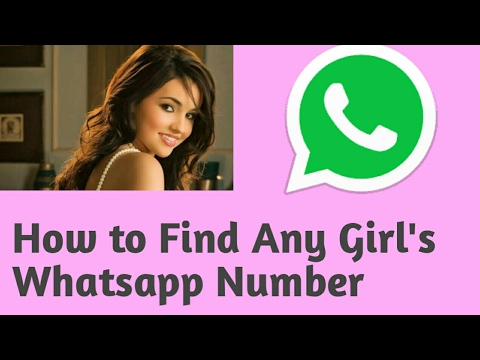 How to Find Any Girl's Whatsapp Number || Get Unlimited Girls Whatsapp Number for free-[Hindi]