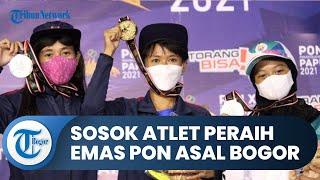 Sosok Widia Atlet Peraih Emas Panjat Tebing PON XX Papua Asal Bogor, Ingin Masuk Series World Cup