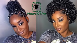Make Your Basic Natural Hairstyles Lit | Feat. Jamaican Mango and Lime