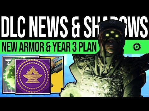 Destiny 2 | DLC UPDATE & PREMIUM SEASONS! New Armor, Exotic Fix, Year 3 Plan, Cryptoglyph & Events!