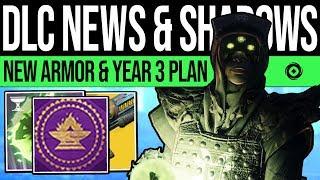 Destiny 2 | DLC UPDATE & PREMIUM SEASONS! New Armor, Exotic Fix, Year 3 Plan, Cryptoglyph & Events!