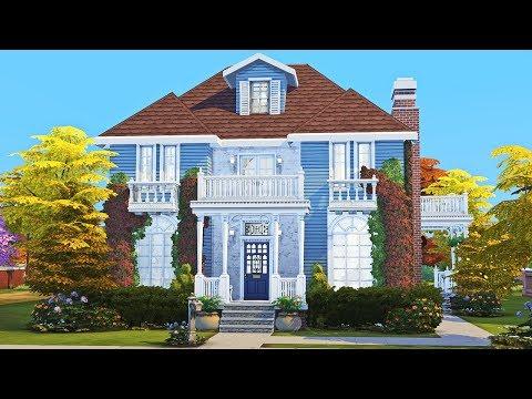 Secret Spy's House || The Sims 4: Speed Build || Part 1