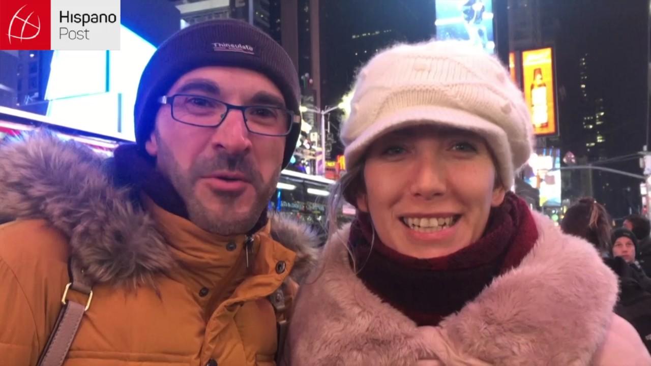 Times Square lista para celebrar la noche de Fin de Año