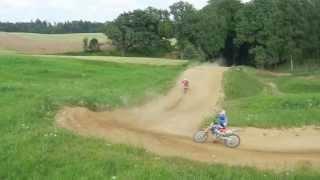 preview picture of video 'Motocross Treningi Petrovice u Karvine 2013'