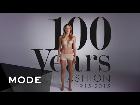 100 Years of Fashion in 2 Minutes | MODE