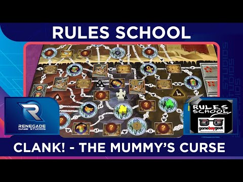 Learn How to Play The Mummy's Curse (Rules School) with the Game Boy Geek
