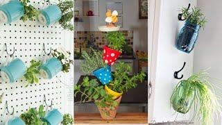 10 DIY Potted Herb Garden Ideas