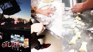 Gwen Stefani and Blake Shelton Cooking in Oklahoma | Snapchat | December 20 2016